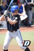 Power Line Softball San Diego Becca Hit Becca Heteniak