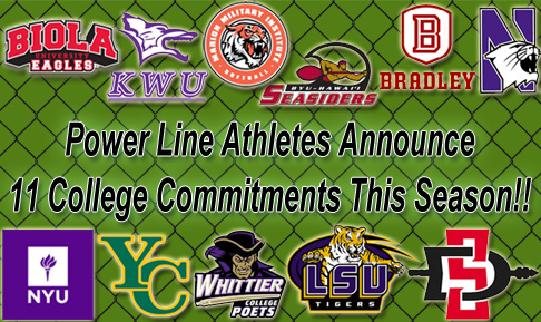 Power Line Athletes College Commitments